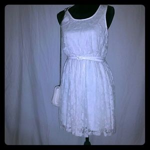NWT White Lace Dress